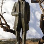 Споменик Стевану Мокрањцу, рад Небојше Митрића 1980.